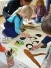 Kunstprojekt bei den Klostermäusen